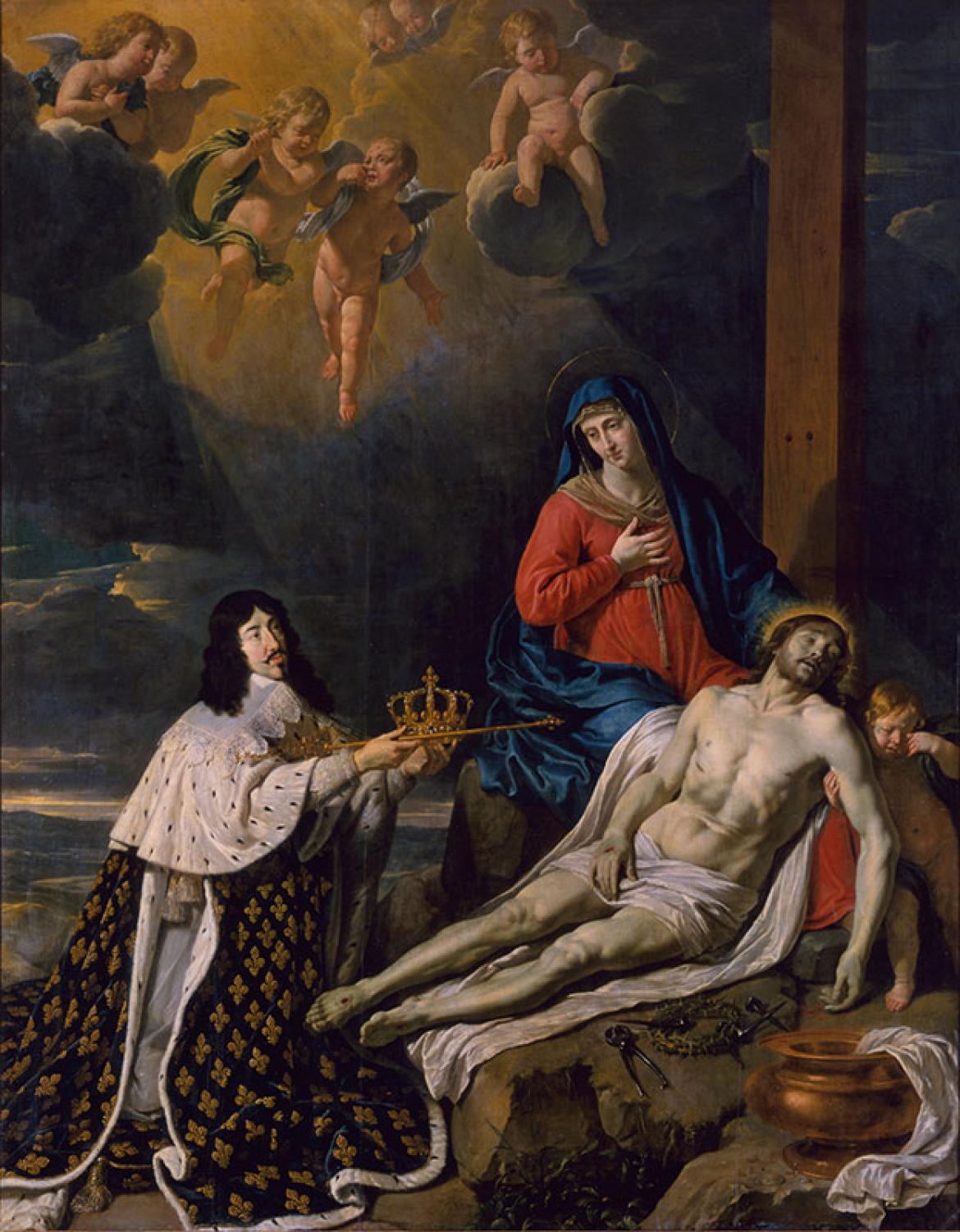 Le Vœu de Louis XIII précédemment dit Notre-Dame de Pitié | Musée ...
